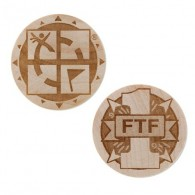 Wooden coin - FTF