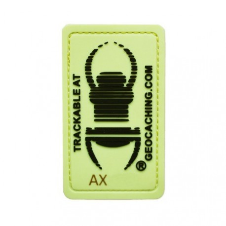 Patch TB trackable - Glow in the dark