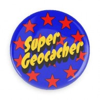 Badge Super Geocacher