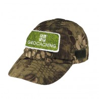 Boné patch Geocaching - Camuglagem serpente