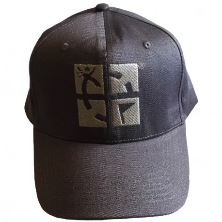 Geocaching cap with logo - Grey
