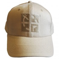 Geocaching cap with logo - Beige