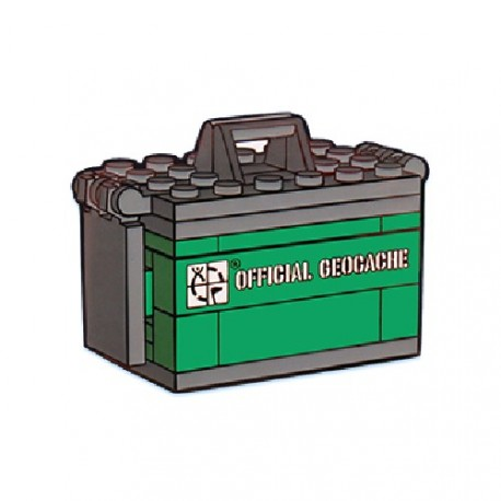 "Geocoin ""Ammo Can Brick"""