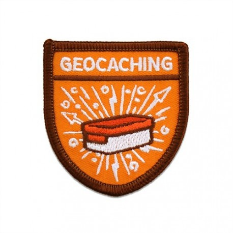 """Patch Geocaching """"Scout"""""""