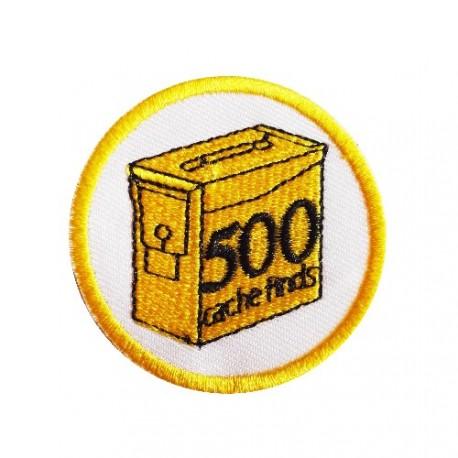 Geo Score Parche - 500 Finds