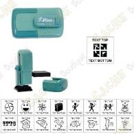 sello de bolsillo personalizable - 17mm