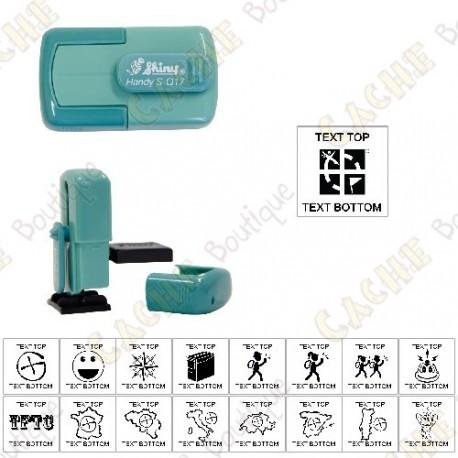 Customizable pocket stamp - 17mm
