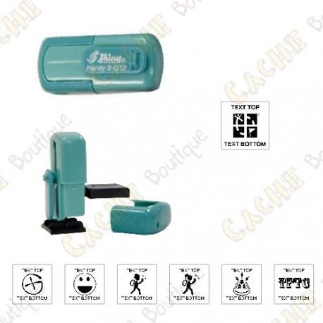 sello de bolsillo personalizable - 12mm