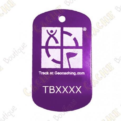 Traveler personalizado - Forma TB com o seu código trackable