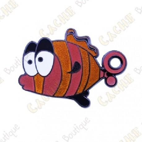 "Geocoin ""Dream Fish"" - Laranja"