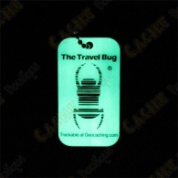 Travel bug QR - Phosphorescent