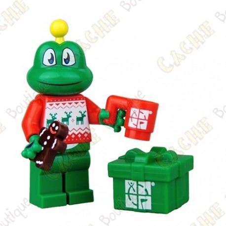 Trackable LEGO™ figure - Signal the Frog® Festive Sweater