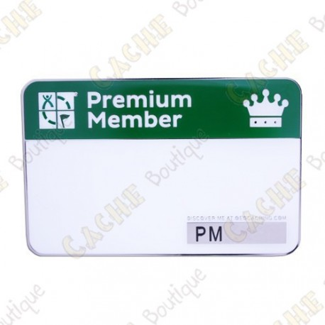 Trackable event name tag - Premium Member