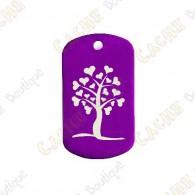 """Traveler """"Heart Tree"""" - Roxo"""
