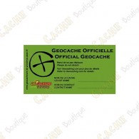 Sticker Géocacheurs de Provence