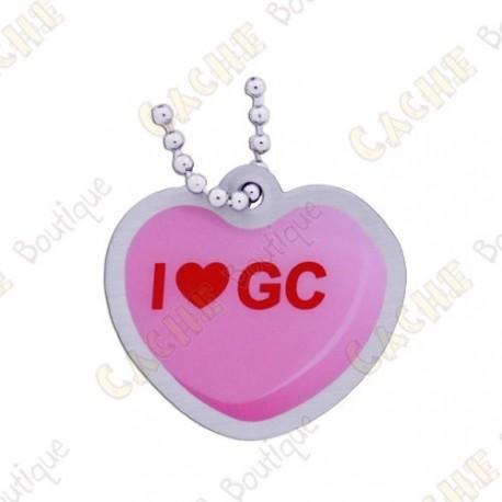 """Traveler """"I love GC"""" - Pink"""