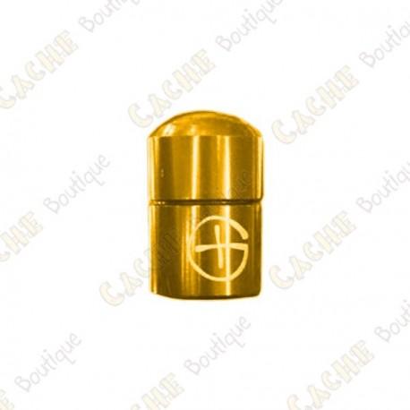 """Nano Cache magnética """"Geo"""" - Ouro"""