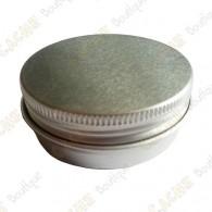 """Cache """"Tin"""" magnética - Círculo 5 cm plana"""