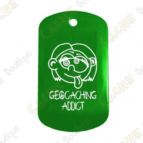 "Traveler ""Geocaching Addict"" Girl - Green"