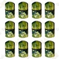 """Magnetic Nano Cache """"Geo"""" x 12 - Green Camo"""