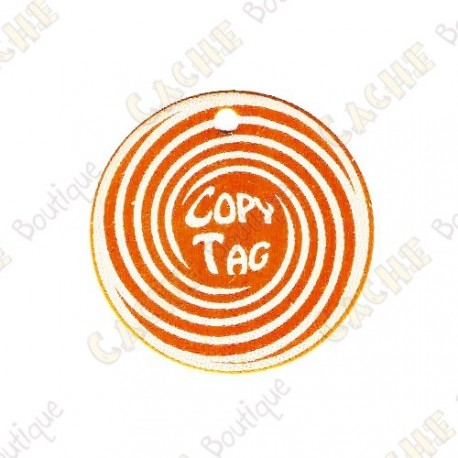 Copy Tag - Geocoin/Double tag - Orange