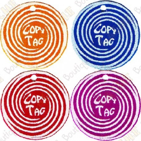 Copy Tag - Geocoin/Double tag x4