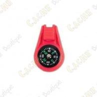 Mini compass - Red