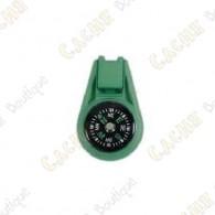 Mini compass - Khaki