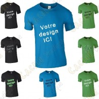 100% customized T-shirt, for Men