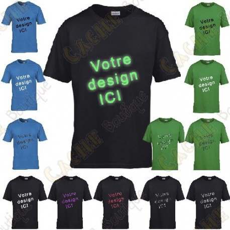 100% customized T-shirt, for Kids