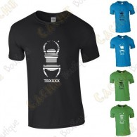 "T-Shirt trackable ""Travel Bug"" Homme"