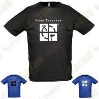 T-Shirt technique avec votre Pseudo, Homme