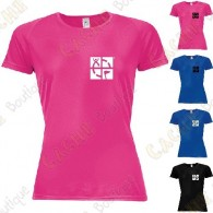 "Trackable ""Discover me"" technical T-shirt for Women"