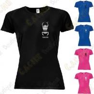 T-Shirt technique trackable avec votre Pseudo, Femme