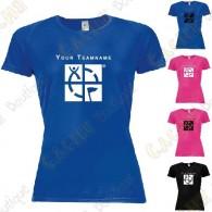 T-Shirt technique avec votre Pseudo, Femme