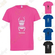 "Camiseta técnica trackable ""Travel Bug"" Niño"