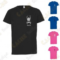 Camiseta técnica trackable con Teamname, Niño