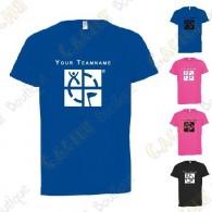 T-shirt técnica com seu Apelido, Criança