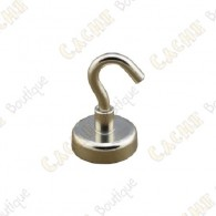 Neodymium magnet hook 20mm
