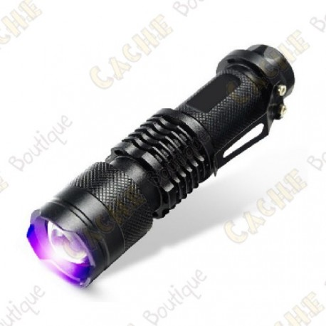 Cree UV zoomable torch