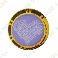 "Geocoin ""I love Wherigo"" - Gold"