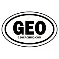 Groundspeak GEO car sticker