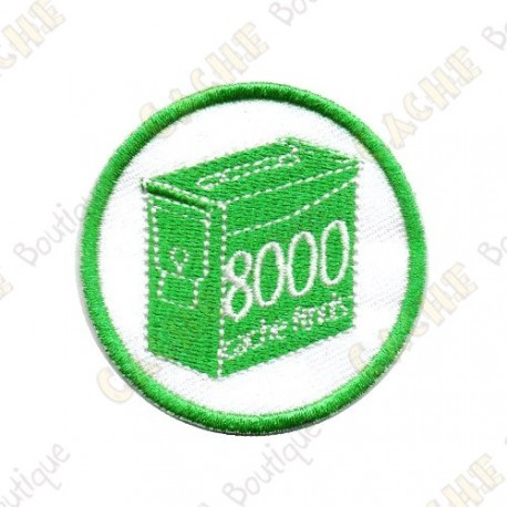 Geo Score Patch - 8000 Finds