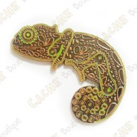 "Geocoin ""Chameleon"" - Glow AC Limited Edition"