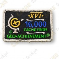 Geo Achievement® 16 000 Finds - Parche