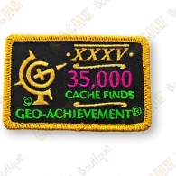 Geo Achievement® 35 000 Finds - Parche