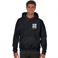 Hooded sweatshirt with your Teamname