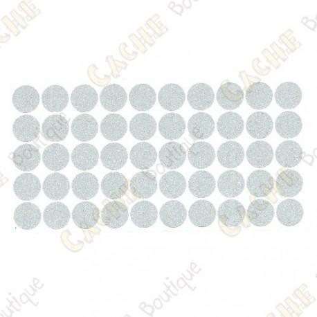 almofadas adesivas reflexivas - Brancas