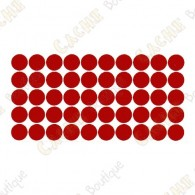 Reflective dot tape - Red
