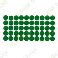 Almohadillas adhesivas reflectantes - Verdes